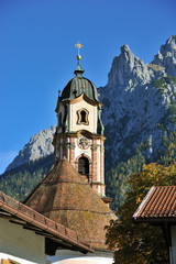 Kirche St. Peter und Paul Mittenwald