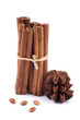 Star anise, cinnamon sticks