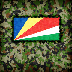 Amy camouflage uniform, The Seychelles