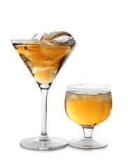 Martini two glasses