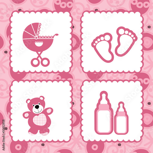 greeting card born babies