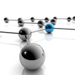 3d Illustration / 3D Grafik - Network und Business