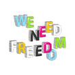 need_freedom