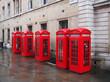 London Telefonkabinen