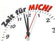 canvas print picture - Uhrenserie: Zeit für MICH!