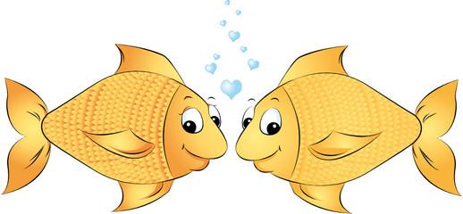 liebende Fische