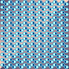 texture of blue and white squares