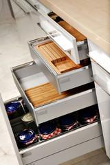 Elegant kitchen drawers