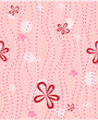 seamless background with floral pattern