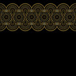 background with gold lace ornament