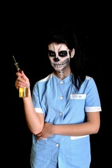 nurse  with death