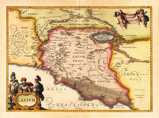 Italy old map