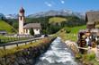 Leinwandbild Motiv Village of Niederthai in Tirol
