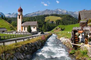 Village of Niederthai in Tirol