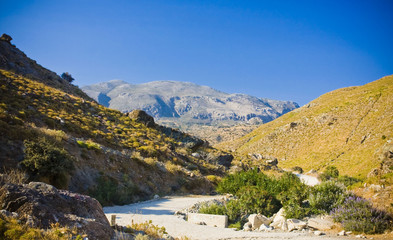 amazing landscape of Crete