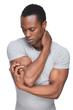 Sensitive African American Man