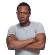 African American Man with Arms Crossed