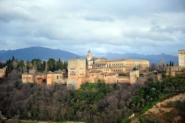 Alhambra de Granada, Sierra Nevada