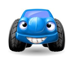 macchinina blu