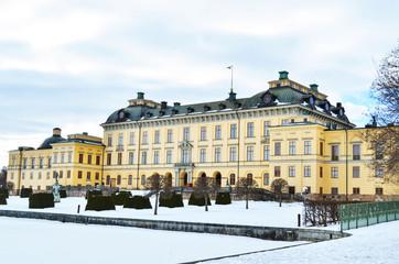 Castle of Drottningholm in Stockholm - Sweden
