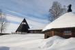 Modern church in Sweden
