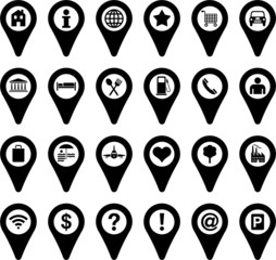 Locators icons