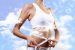 Sport woman and fitness