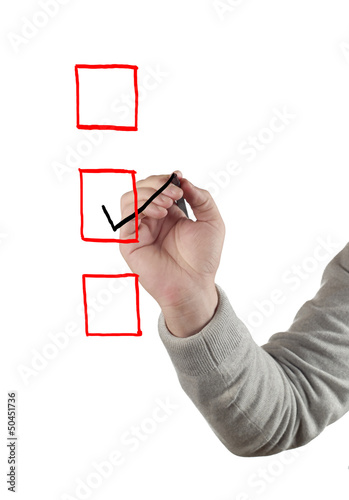 Hand drawing Checkbox.