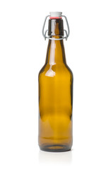 braune Bügelflasche