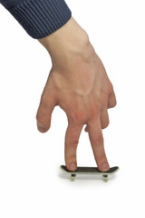 Hand with a fingerboard