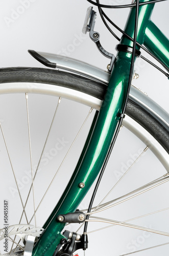 Green Touring Bicycle