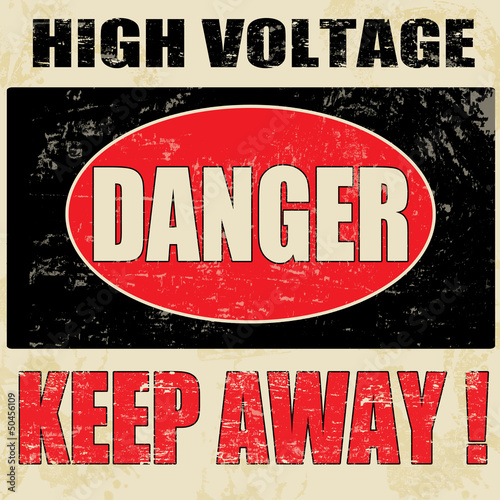Danger High Voltage © Balint Radu