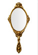 Leinwandbild Motiv Vintage hand mirror