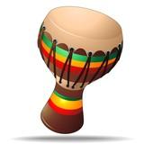 Bongo Percussion Instrument - Strumento a percussione