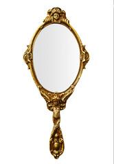 Vintage hand mirror