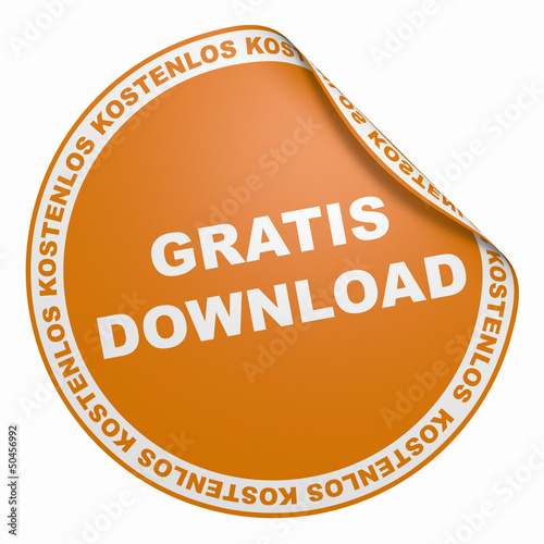 3D Aufkleber - Gratis Download