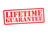 LIFETIME GUARANTEE Rubber Stamp