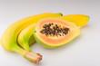 papaya mit banane