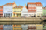 Nyhavn in Copenhagen Denmark - Famous tourist attraction