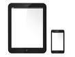 tablette numerique et smartphone