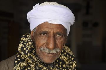 Portrait eines älteren ägyptischen Mannes