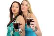 zusammen trinken
