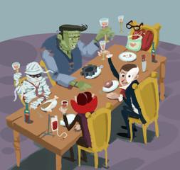 comida de monstruos