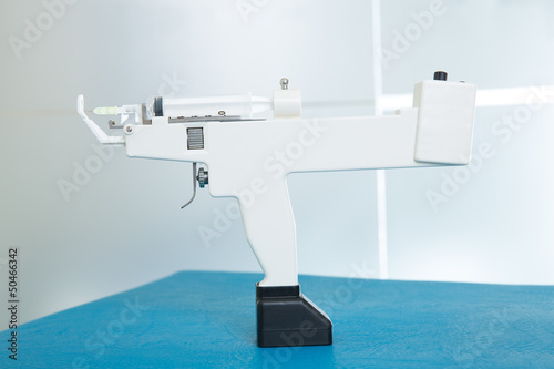 poster of mesotherapy gun electronic with syringe