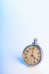 Vintage shabby pocket watch - space for text