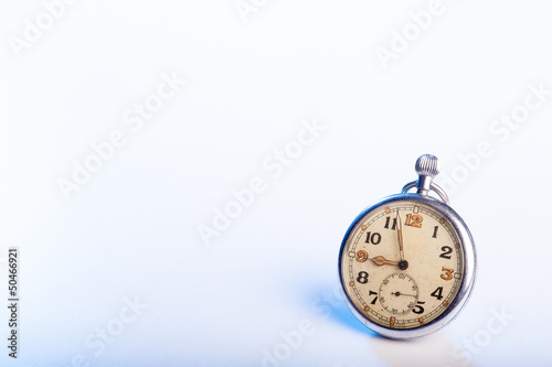 Old vintage pocket watch - space for text