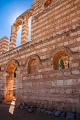 Alte Mauer - Ruinen von Anjar