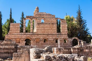 Ruins of Anjar Ummayad - Haoush Mousa