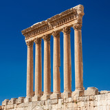 Podium Jupitertempel - Baalbek