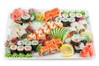 Japan Roll on a plate allsorts